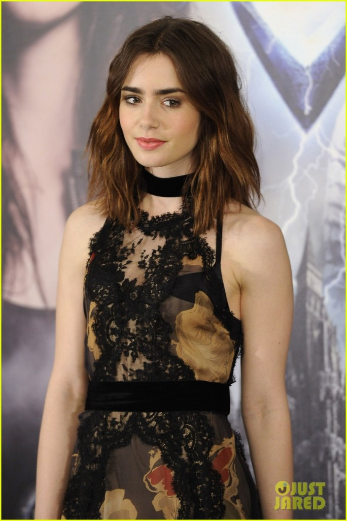 'The Mortal Instruments: City Of Bones' Madrid Photocall