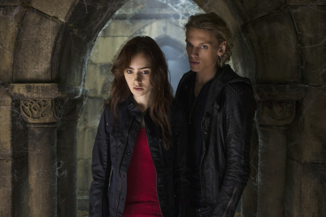 Lily Collins;Jamie Campbell Bower
