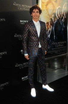 "Premiere Of Screen Gems & Constantin Films' ""The Mortal Instruments: City Of Bones"""